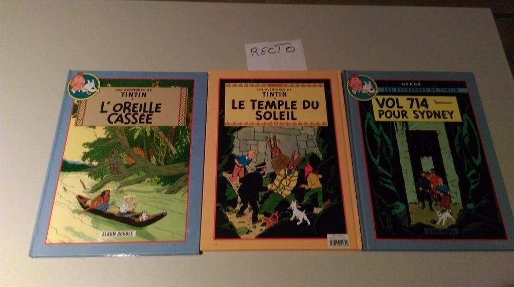 tintin double ( recto verso) 5 Saint-Germain-des-Prés (45)