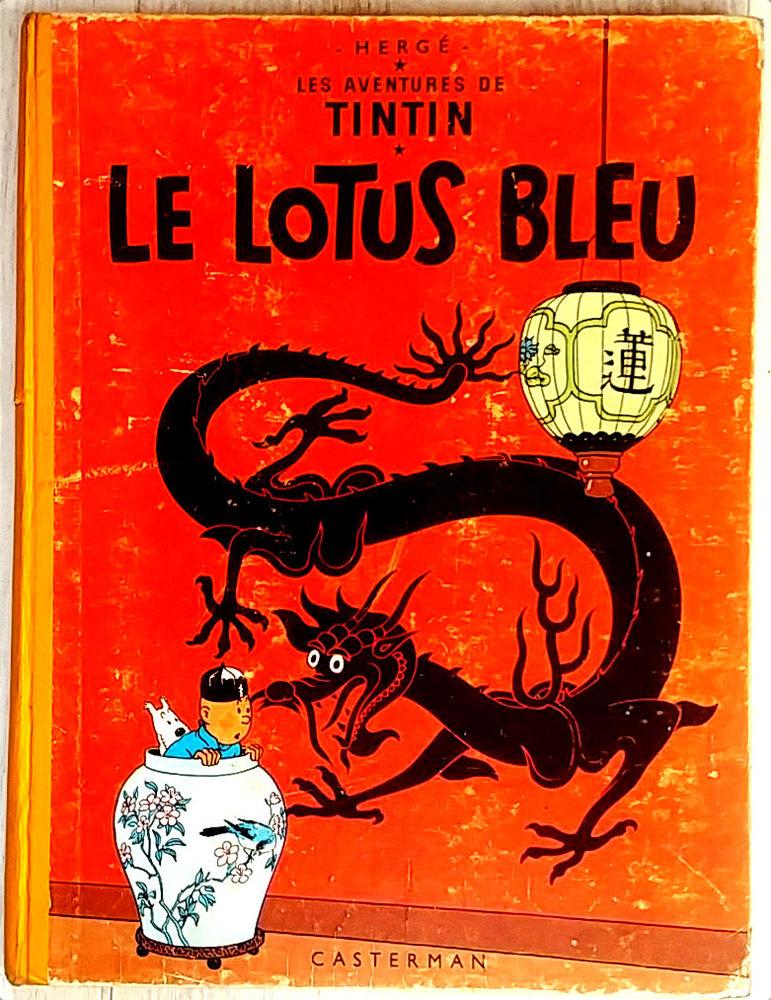 BD Tintin Le lotus bleu 120 Paris 11 (75)