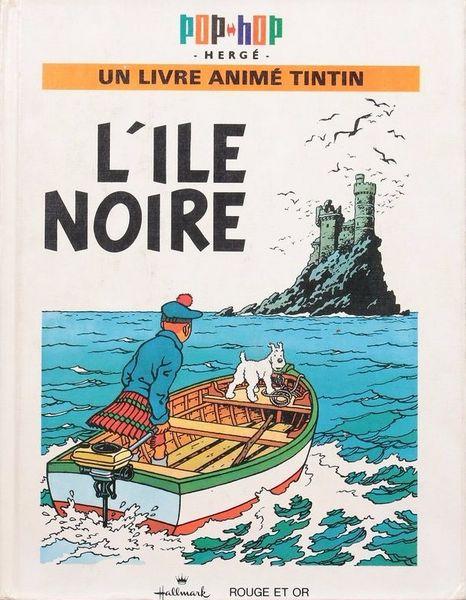 Tintin pop-hop   L'île noire    190 Sainte-Marie (58)