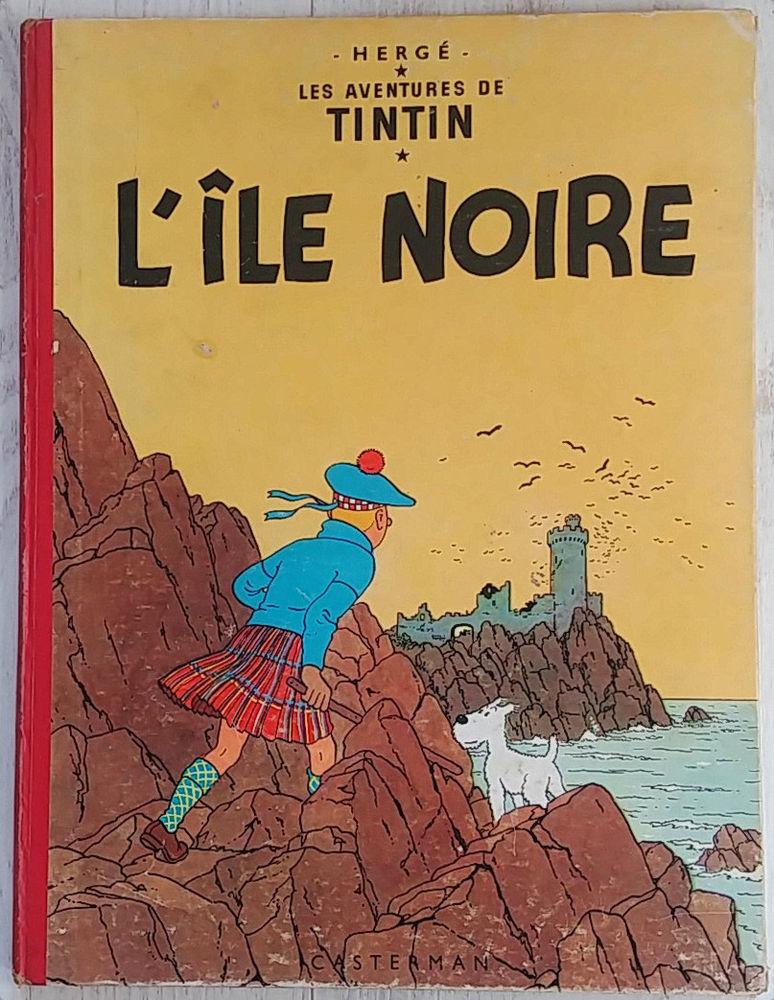 Tintin l'île noire 180 Paris 11 (75)