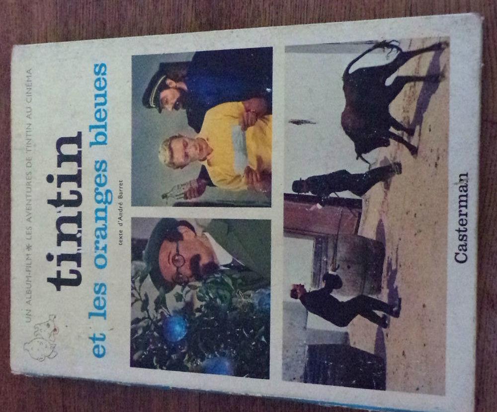 Tintin et les oranges bleues un album les aventures de Tinti 15 Laval (53)