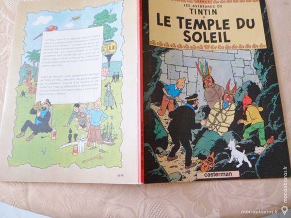 TINTIN «LE TEMPLE diu SOLEIL » 5 Marseille 7 (13)