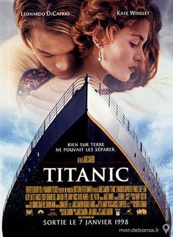 TITANIC Affiche de Cinéma 1998 GF 120x160 120 Maisons-Alfort (94)