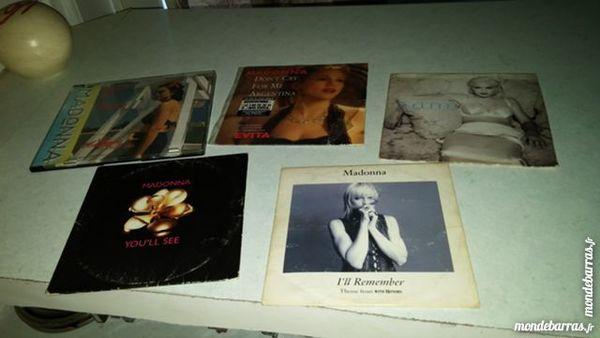 5 CD 2 titres de Madonna CD et vinyles