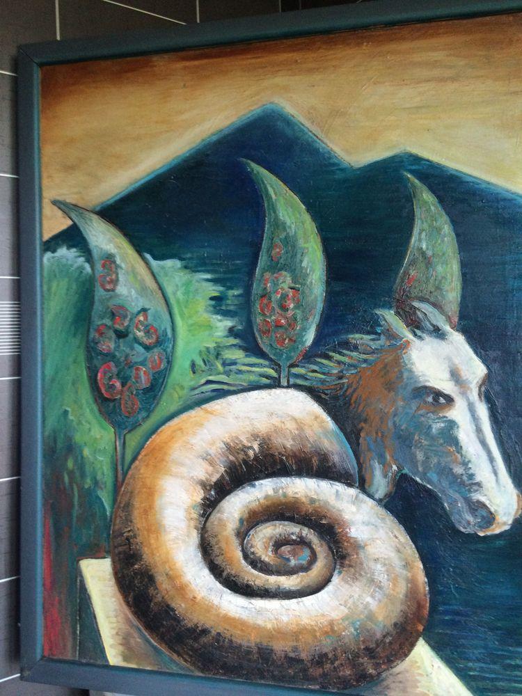 toile d'artiste Décoration