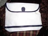 sac en toile blanc-marine neuf 15 Châtenay-Malabry (92)