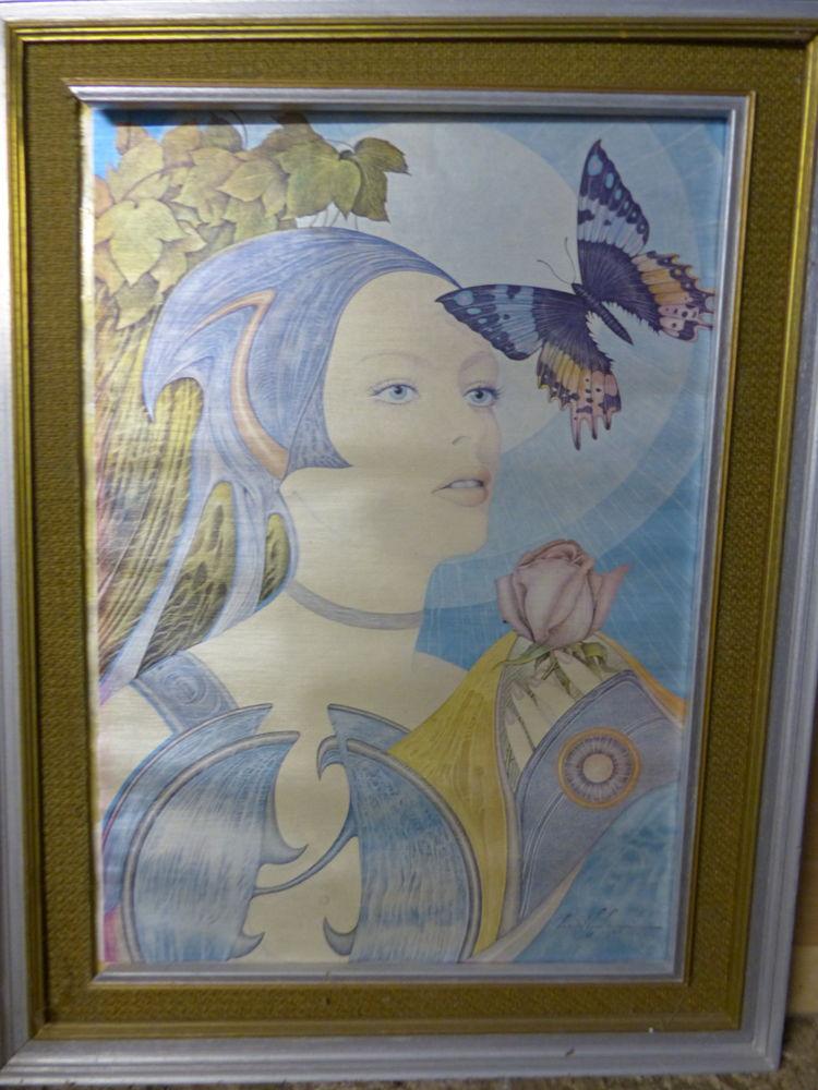 toile peinture, signée de... 0 Sainte-Catherine (62)
