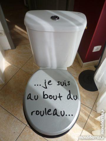 Toilette faïence blanc ROCA & abattant BE