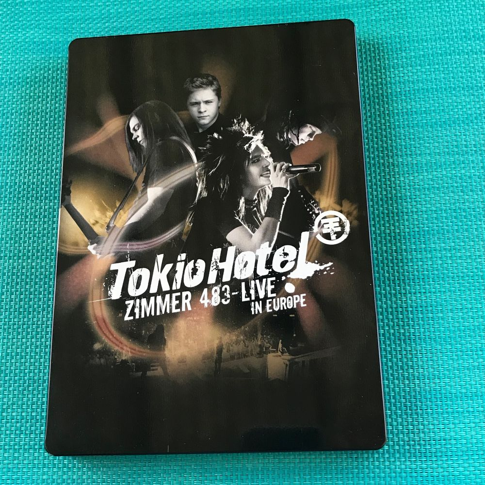 Tokio Hotel - Zimmer 483 - Live On European Tour Édition Col DVD et blu-ray