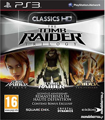 Tomb Raider Trilogy Ps3 18 Courbevoie (92)