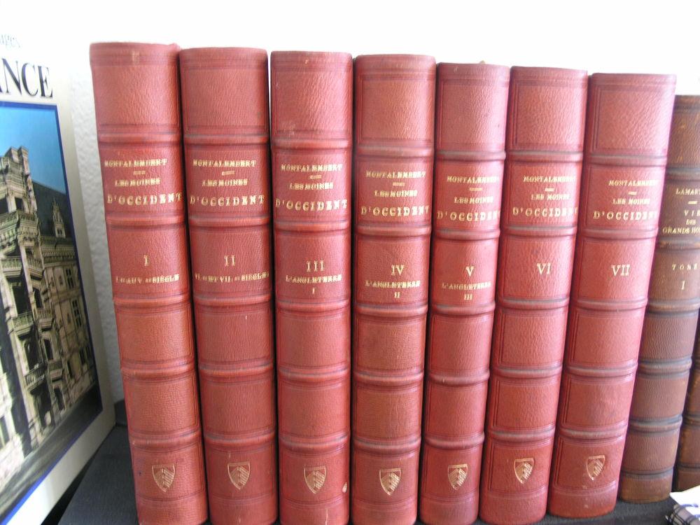 7 tomes - Montalembert - Livres anciens # 4  140 Maule (78)