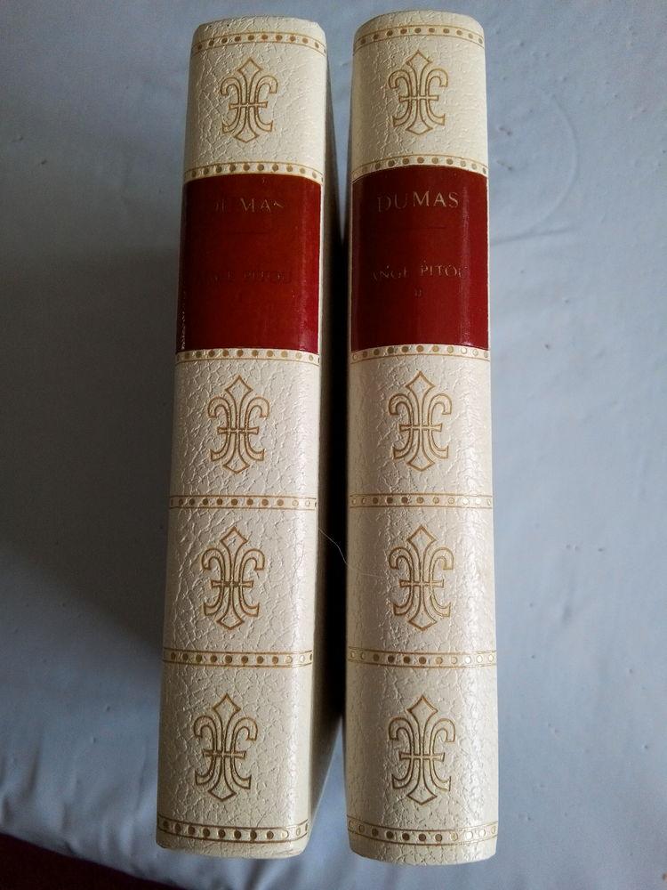 4 tomes de l'ouvrage d'A. Dumas  Le Vicomte de Bragelonne  4 Étampes (91)