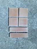 8,5m2 de tomettes à l'ancienne 15x15cm 0 Camboulit (46)