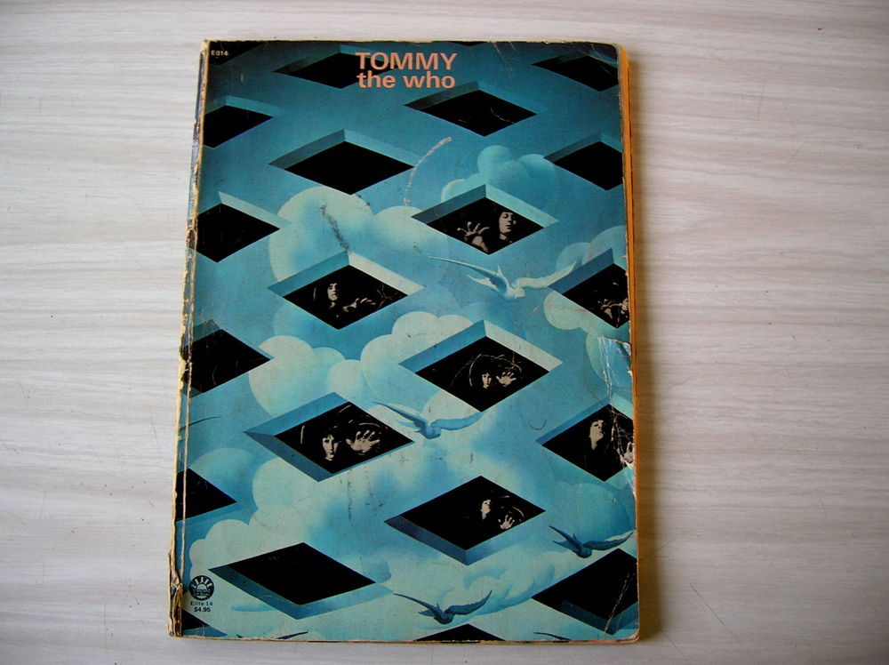 THE WHO TOMMY PARTITION MUSICALE 45 Nantes (44)