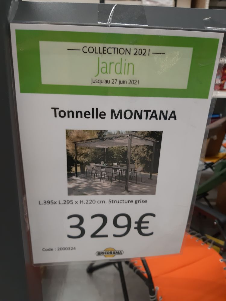 Tonelle montana neuve encore dans le carton u 320 eurosn 200 Médis (17)