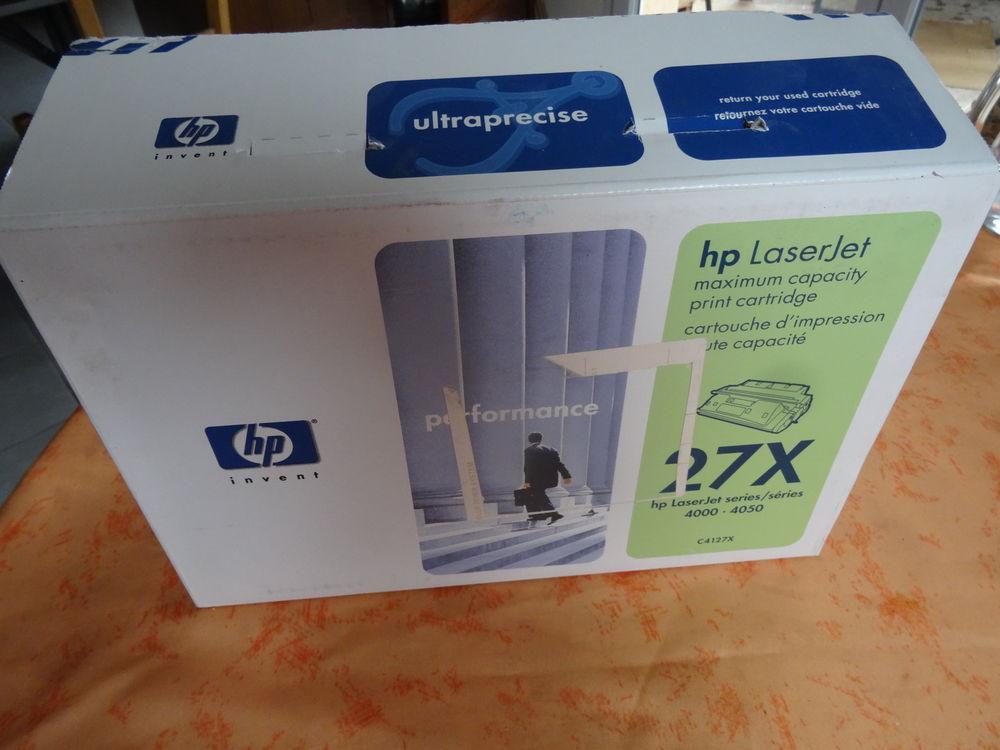 Toner HP27X, C4127X pour imprimante laserjet 4000 25 Labège (31)