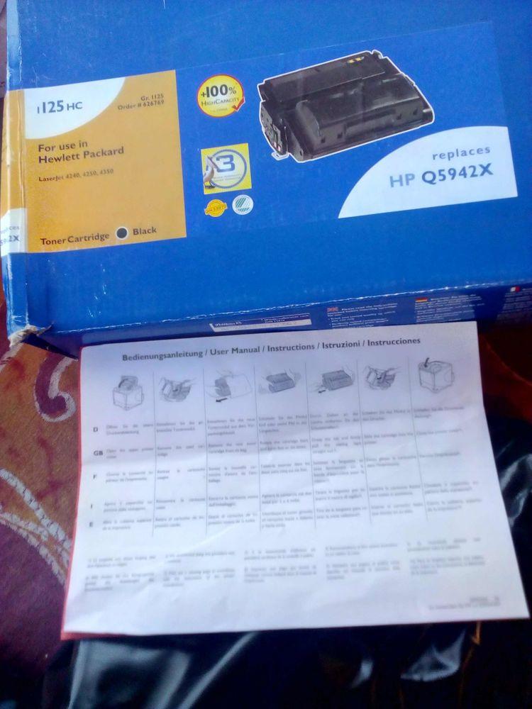 Toner Laser noir pour imprimante HP Q5942X  30 Villefranche-de-Lauragais (31)