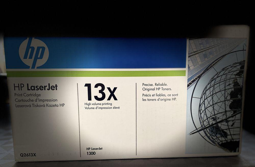 1 Toner Hp Q2613X original 13X Noir 4000 pages pour Hp Q2613 89 Vanves (92)