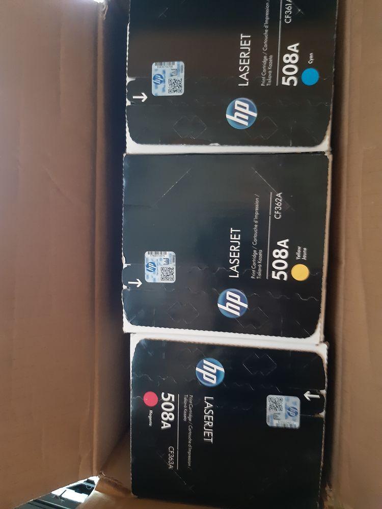 3 Toners couleurs HP Matériel informatique