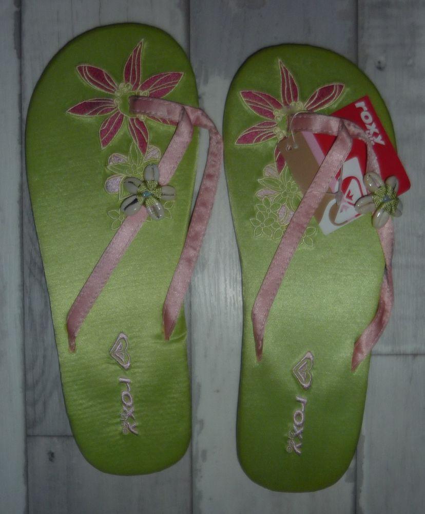 tongs neuves roxy life t 40 hibiscus été plage mer 8 Bonnelles (78)