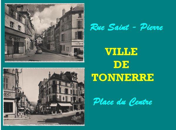TONNERRE - CARTES POSTALES / prixportcompris 15 Lille (59)