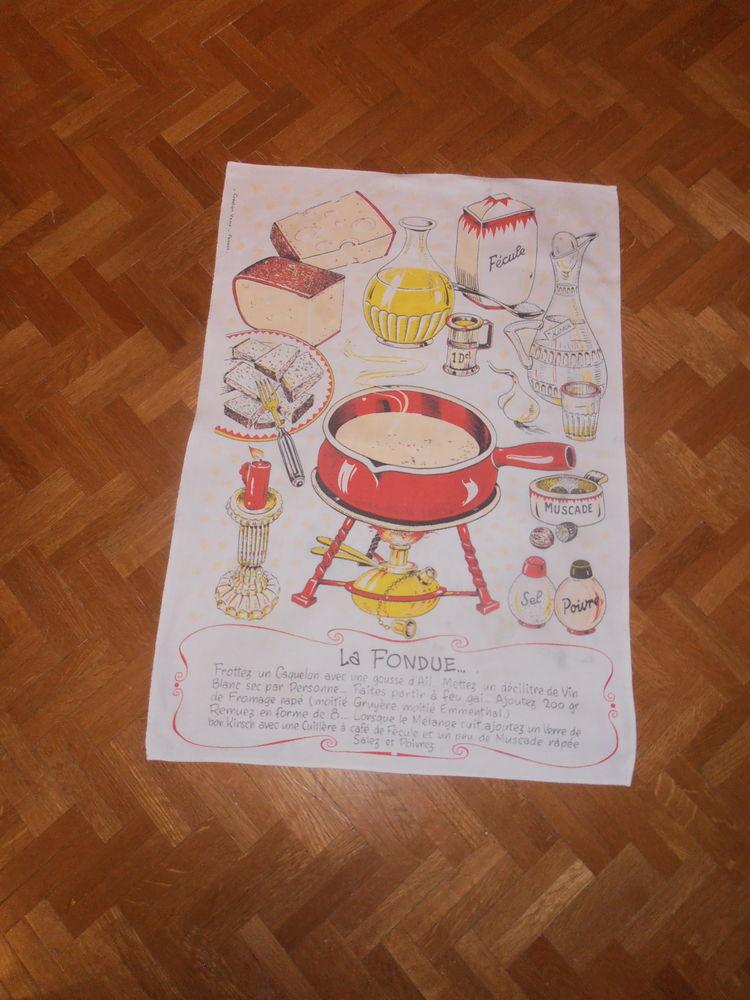 Torchon  La fondue  (81) 3 Tours (37)