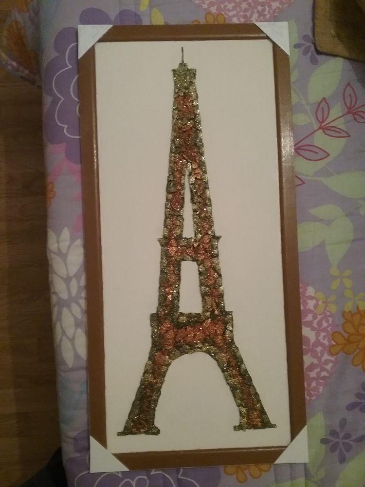 Torre Eiffel en verre petites marso cole 15 La Châtre (36)