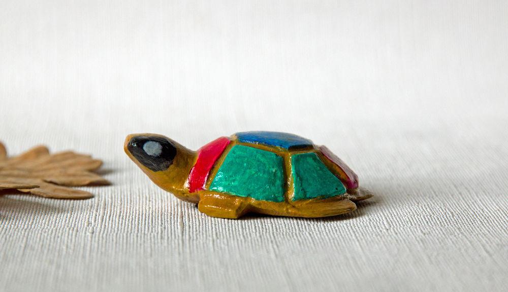 Tortue multicolore de fabrication artisanale 13 Sceaux (92)