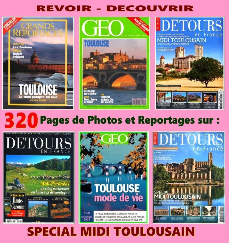 TOULOUSE - voyage - LE MIDI TOULOUSAIN 18 Lille (59)