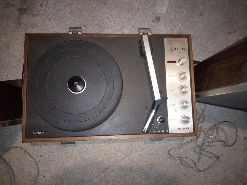 Tourne disque Philips années 60-70 Audio et hifi