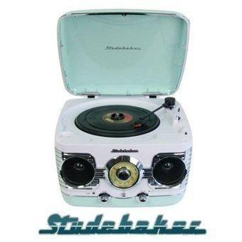 Tourne disque vinyl retro vintage + radio tuner STUDEBAKER Audio et hifi