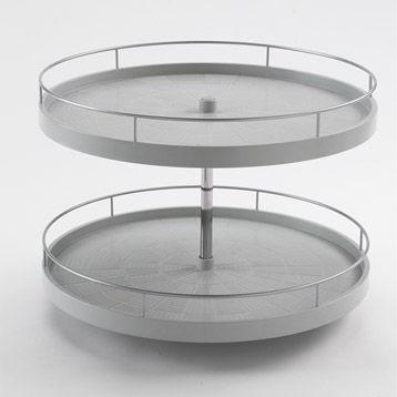 plateau tournant pour placard cuisine - home design & architecture