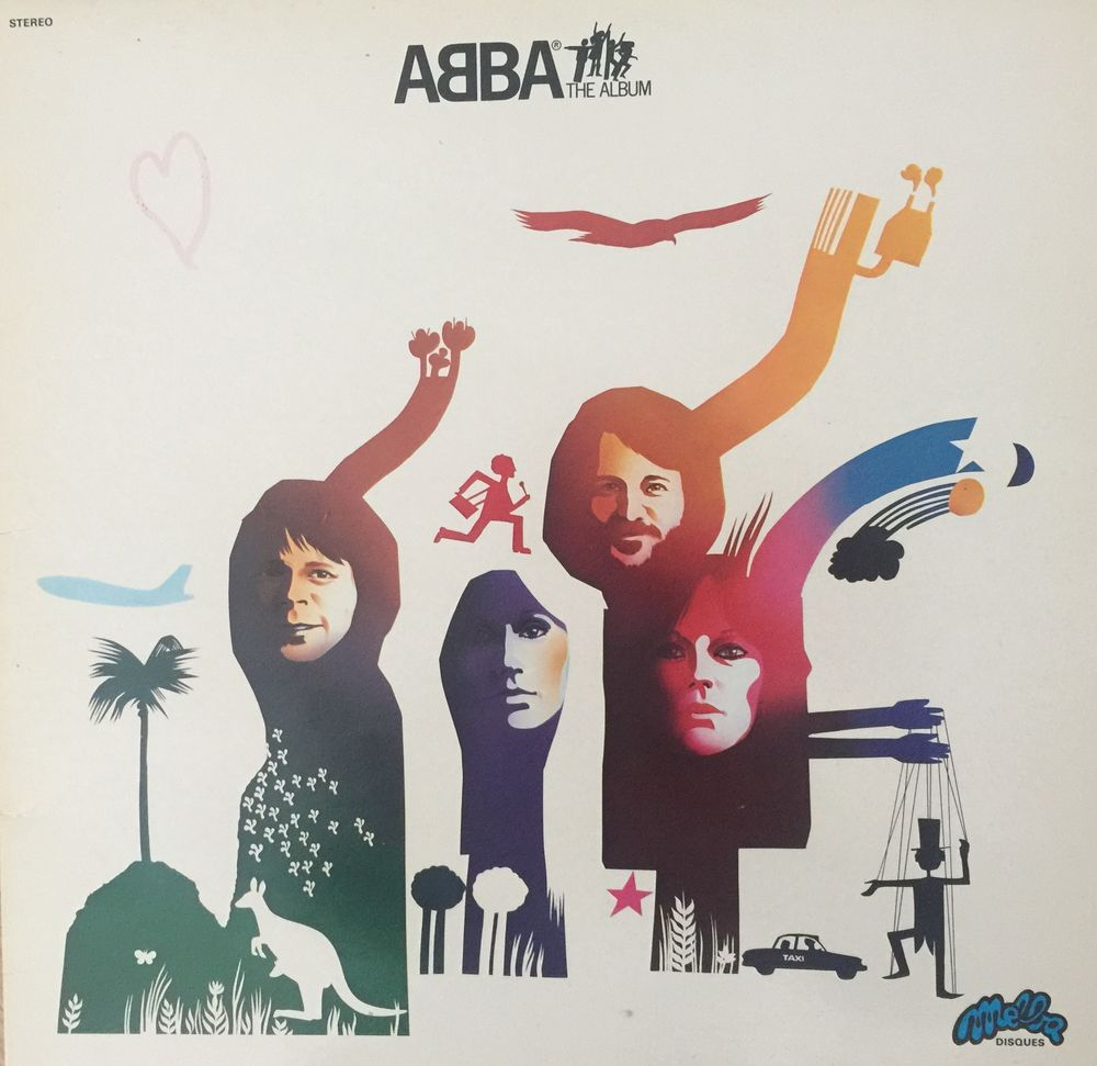 33 Tours Abba  The Album  8 Guyancourt (78)