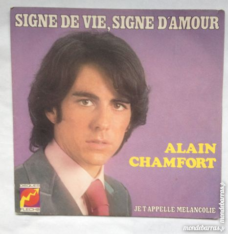 45 tours Alain Chamfort 1 Illkirch-Graffenstaden (67)