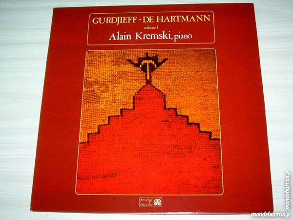 33 TOURS ALAIN KREMSKI Gurdjieff - De Hartmann 14 Nantes (44)