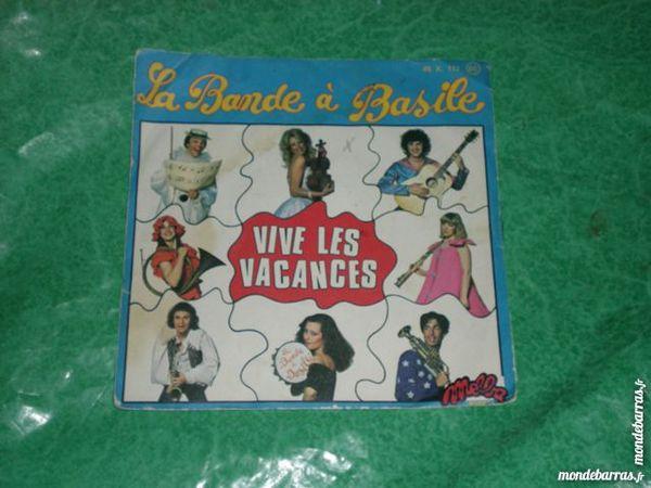 45 tours la bande à Basile « vive les vacances» 1 Saleilles (66)