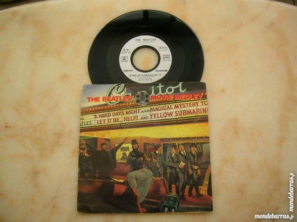 45 TOURS THE BEATLES Movie medley CD et vinyles