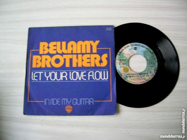 45 TOURS BELLAMY BROTHERS Let your love flow 7 Nantes (44)