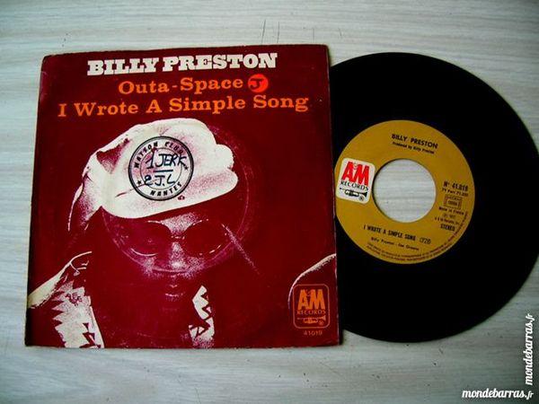 45 TOURS BILLY PRESTON Outa Space CD et vinyles