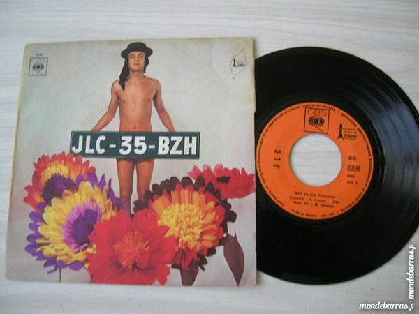 45 TOURS JLC 35 BZH Bzh -  BRETON 70'S 8 Nantes (44)
