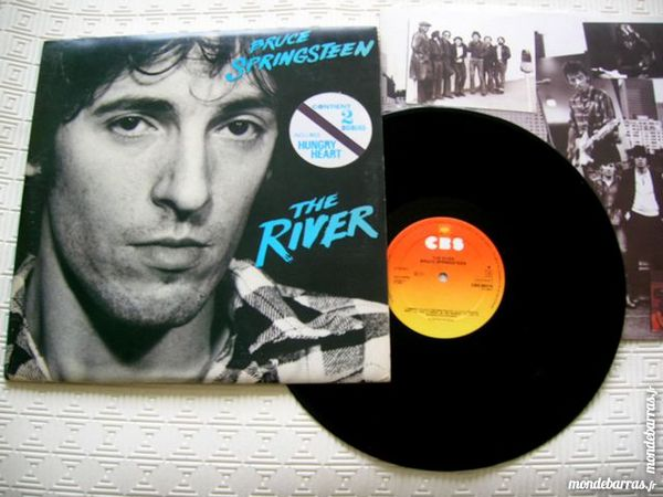 33 TOURS BRUCE SPRINGSTEEN The River - 2 disques 18 Nantes (44)