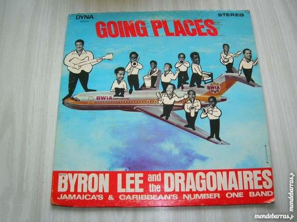 33 TOURS BYRON LEE AND THE DRAGONAIRES Going place 53 Nantes (44)