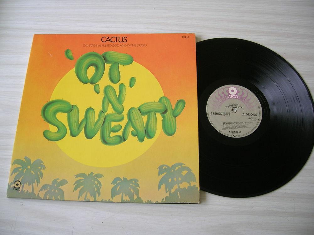 33 TOURS CACTUS OT N SWEATY CD et vinyles