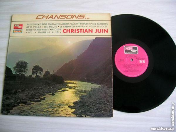 33 TOURS CHRISTIAN JUIN Chansons CD et vinyles