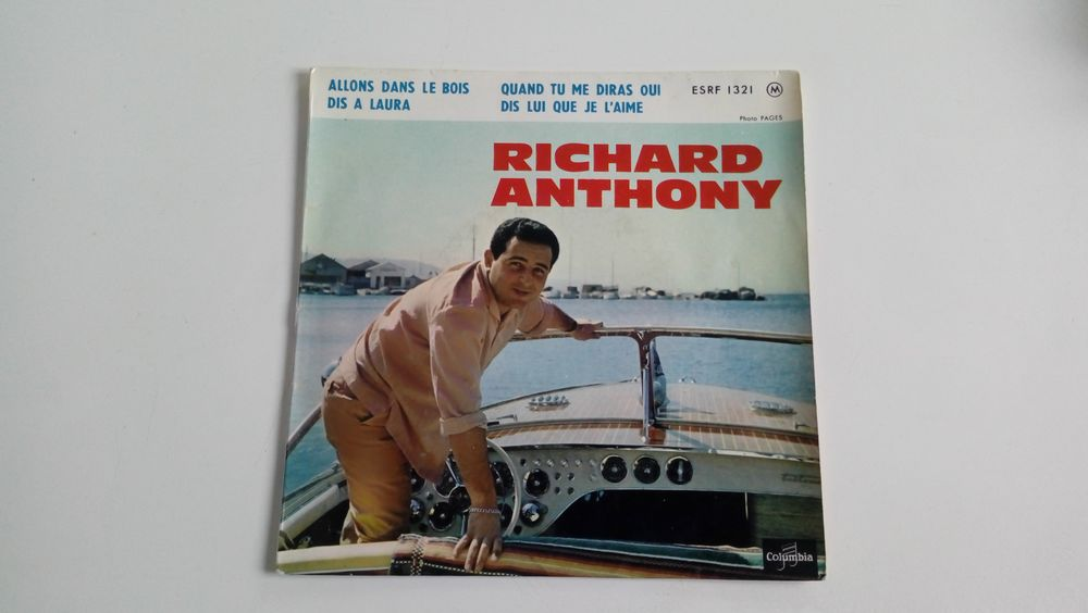 45 tours collection Richard Anthony-Allons dans les bois 0 Malakoff (92)