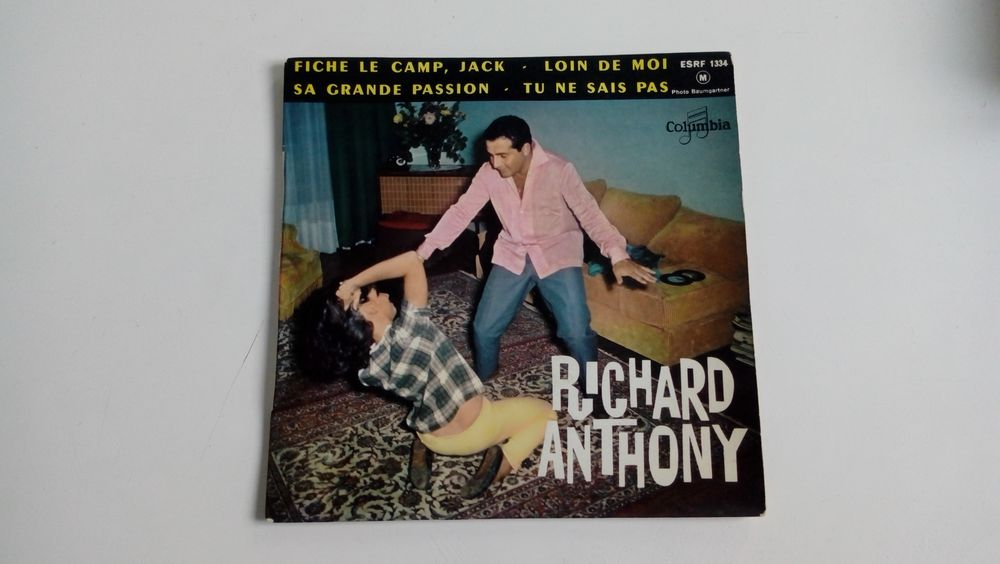 45 tours collection Richard Anthony-Fiche le camp Jack 0 Malakoff (92)