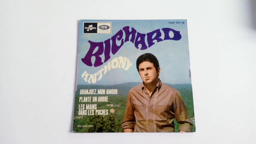 45 tours collection Richard Anthony-Aranjuez mon amour 0 Malakoff (92)