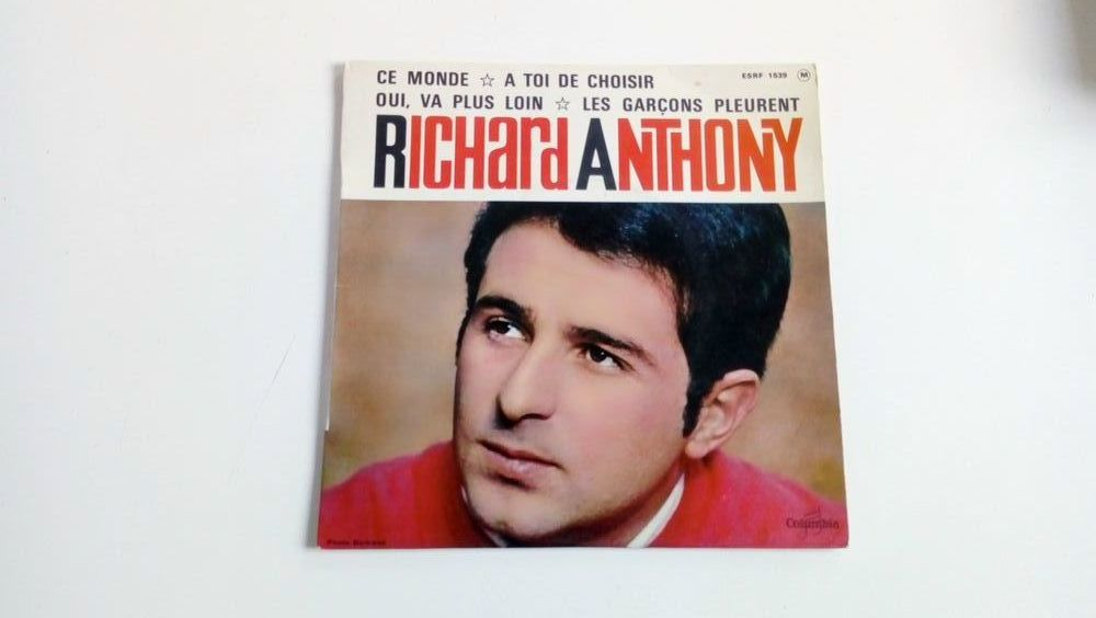 45 tours collection Richard Anthony-Ce monde 0 Malakoff (92)