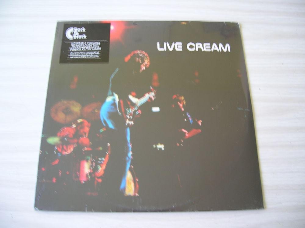 33 Tours CREAM Live Cream 25 Nantes (44)