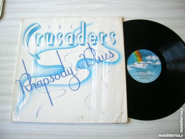 33 TOURS THE CRUSADERS Rhapsody and Blues - FUNK 14 Nantes (44)